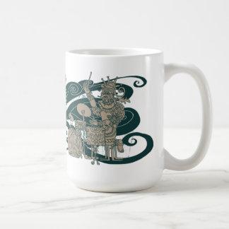 Mug Jazztecs antique