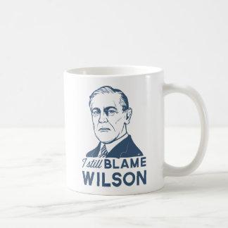 Mug Je blâme toujours Woodrow Wilson