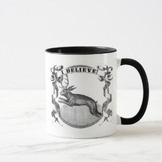 Mug Je crois (Jackalope)