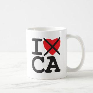 Mug Je déteste CA - la Californie