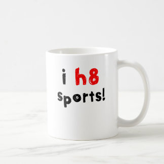 Mug Je déteste des sports
