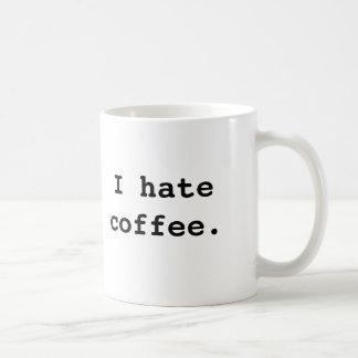 Mug Je déteste le café., je déteste le café