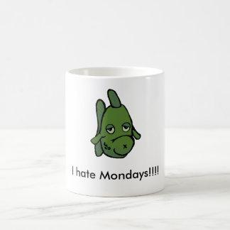 Mug Je déteste lundi ! ! ! ! Poissons