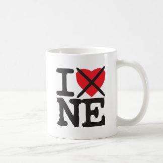 Mug Je déteste Ne - Nébraska