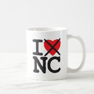Mug Je déteste OR - la Caroline du Nord