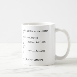 Mug Je développe le logiciel