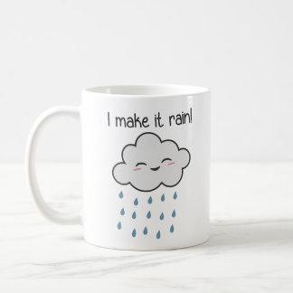 Mug Je le fais pleuvoir le nuage de tempête mignon