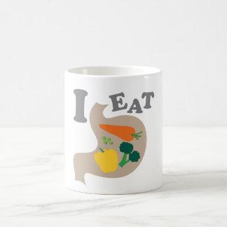 Mug Je mange des légumes