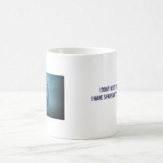 Mug Je n'ai pas besoin de café… que j'ai SYR