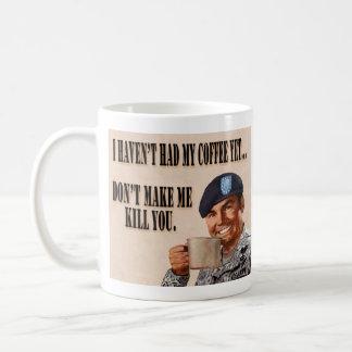 Mug Je n'ai pas pris mon café pourtant…