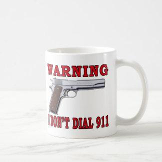 Mug Je ne fais pas compose 911