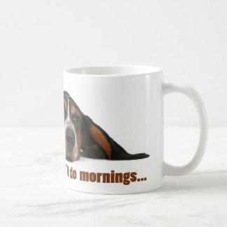 Mug Je ne fais pas des matins