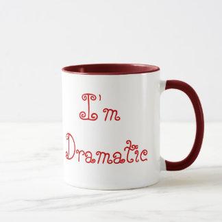 Mug Je ne suis pas déprimé, je suis dramatique