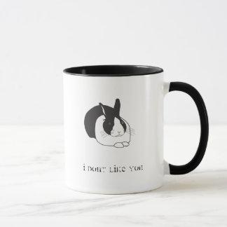 Mug Je ne vous aime pas