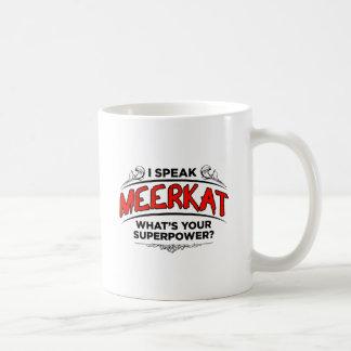 Mug Je parle Meerkat