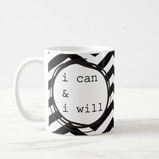 Mug Je peux et je vais le faire