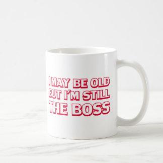Mug Je peux être vieux mais je suis toujours le patron