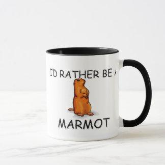 Mug Je serais plutôt Marmot