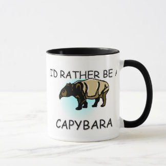 Mug Je serais plutôt un Capybara