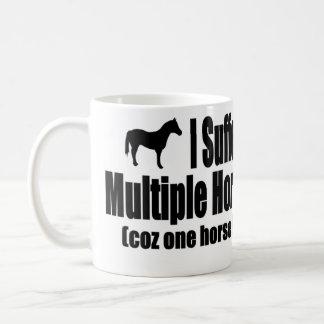 Mug Je souffre du syndrome multiple de cheval