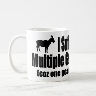 Mug Je souffre du syndrome multiple de chèvre