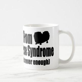 Mug Je souffre du syndrome multiple de Pekingese