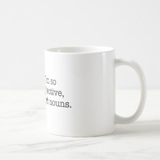 Mug Je suis ainsi adjectif