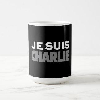 Mug Je Suis Charlie - je suis noir de Charlie
