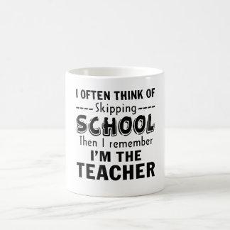 Mug Je suis le professeur
