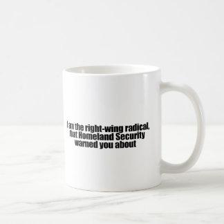 Mug Je suis le radical de droite cette sécurité de