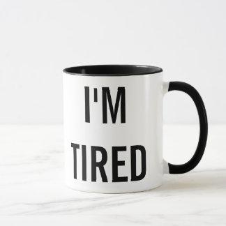Mug Je suis nouveau cadeau fatigué de parent