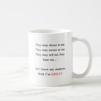 Mug Je suis un grand professeur