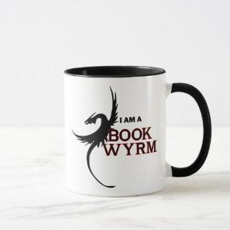 Mug Je suis un livre Wyrm (un côté imprimé)