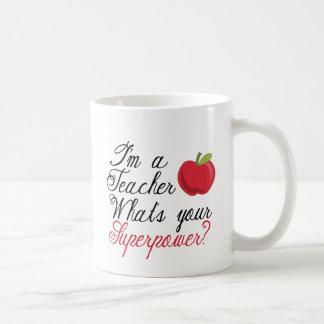 Mug Je suis un professeur…