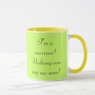 Mug Je suis un survivant ! Rien ne peut m'arrêter