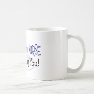 Mug Je suis une infirmière de Psych, je peux vous