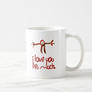 Mug Je t'aime ce beaucoup