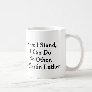 Mug Je tiens Martin Luther