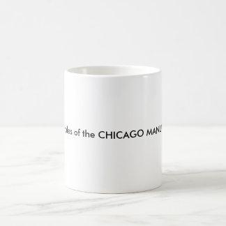 Mug Je vis à côté des règles du MANUEL de CHICAGO DU