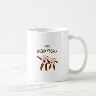 Mug Je vois des personnes de pain