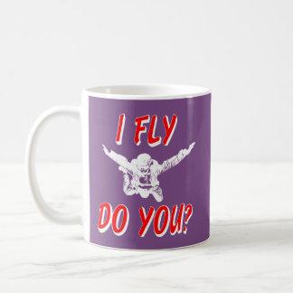Mug Je vole, et vous ? (blanc)