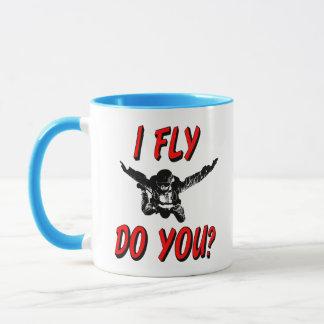 Mug Je vole, et vous ? (noir)