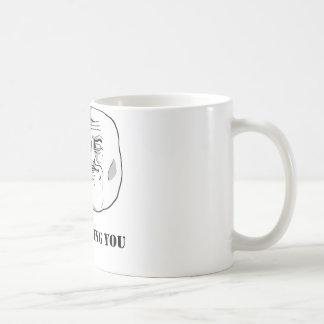 Mug Je vous observe - meme