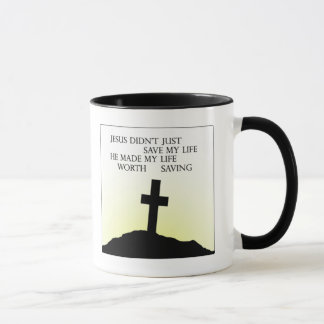 Mug Jésus a sauvé ma vie