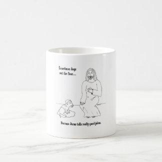 Mug Jésus aime des chiens