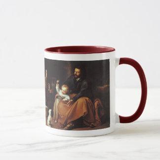 Mug Jésus avec le moineau - Murillo,… le mot était…