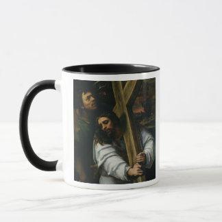 Mug Jésus portant la croix, c.1535 (huile sur le