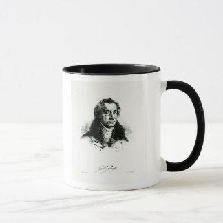 Mug Johann Wolfgang Goethe gravé par Delacroix