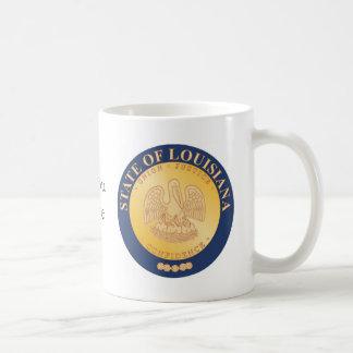 Mug Joint et devise d'état de la Louisiane