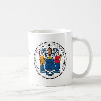 Mug Joint et devise d'état de New Jersey